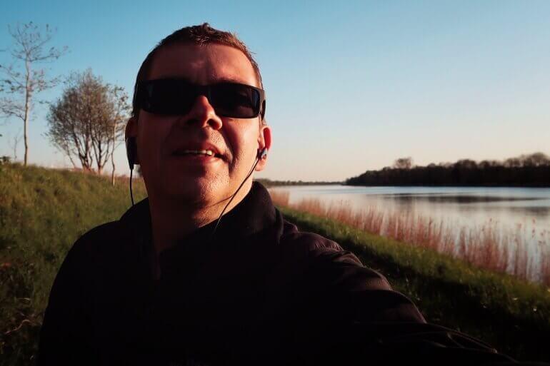 Carsten Fischer auf Tour - Hier am See