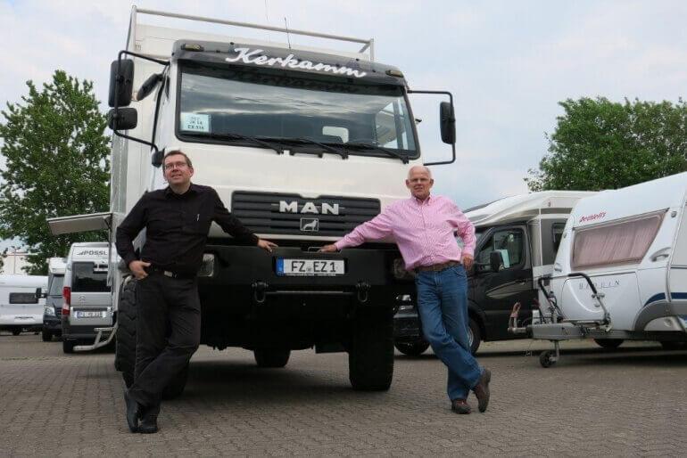 Übergabe Truck zur Expedition