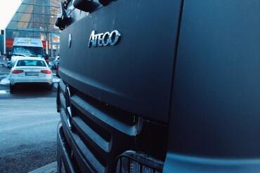 Frontansicht Truck Mira